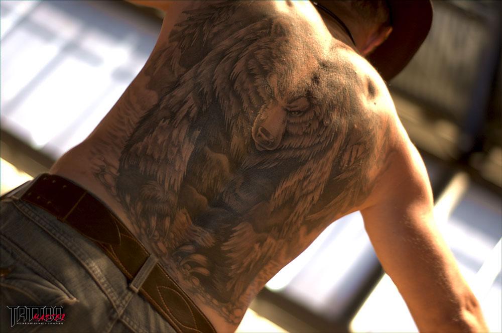 俄罗斯的纹身作品欣赏